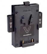 PAG V-Mount Connector for Orbitor & X1A back plate (2 x PP90 outputs)